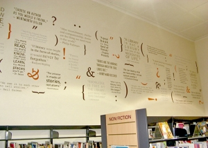 Goodwood Library Motivational Quotes wall decals