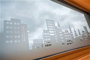 creative window frosting decals
