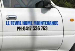 self adhesive car signage
