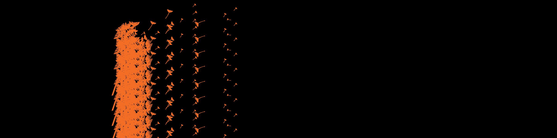 dandelion wall decal