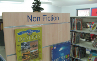 Self adhesive library lettering kit - General Library Signage