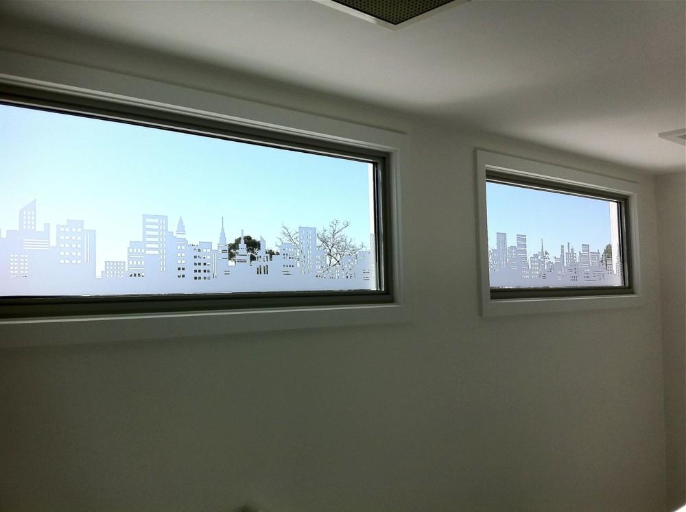 window frosting, sliding door frosting