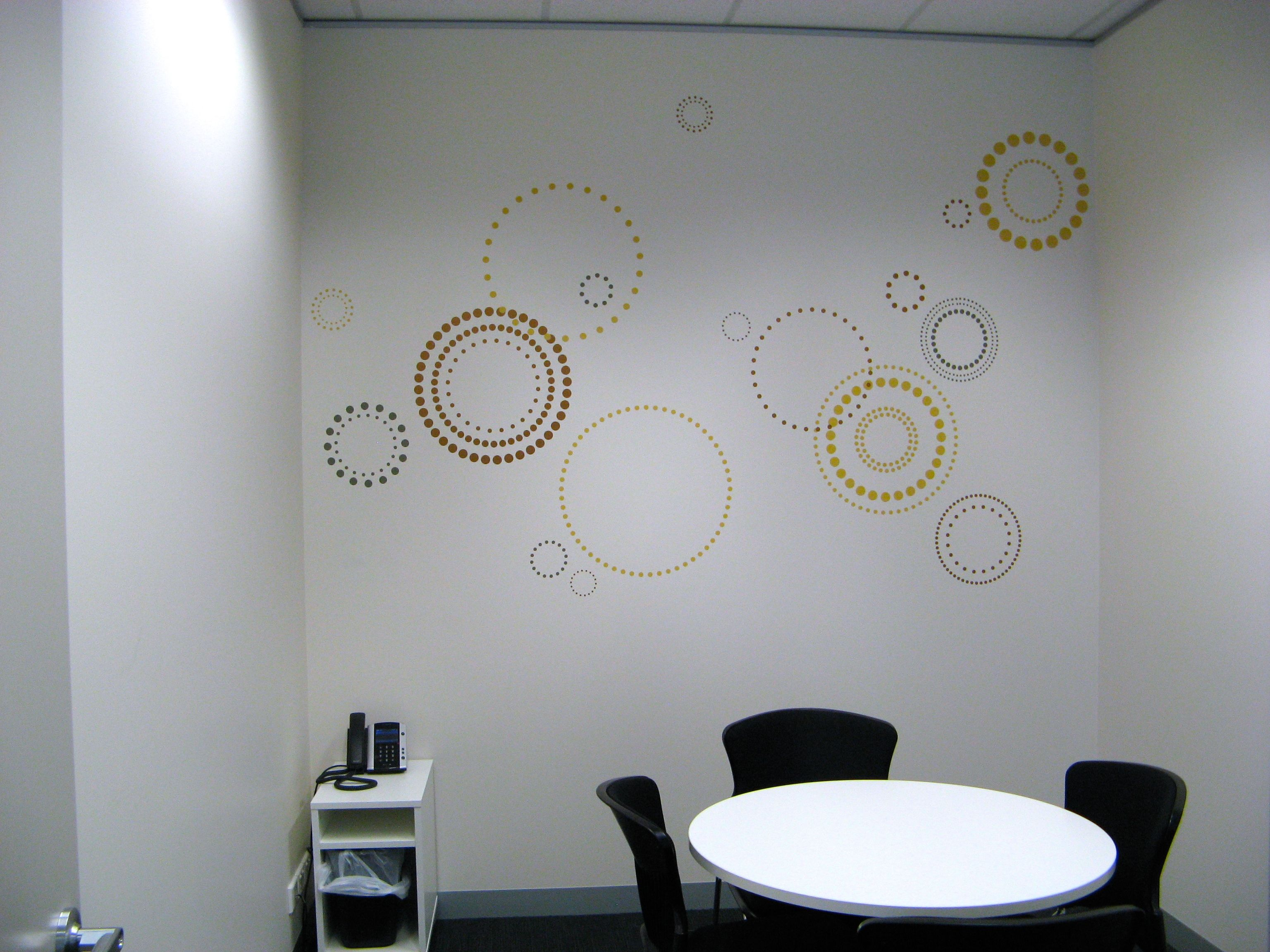 Office wall decals meeting room wall decals Art for office walls