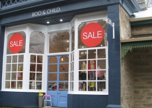 Sale shop window signs, retail signage, sale window stickers