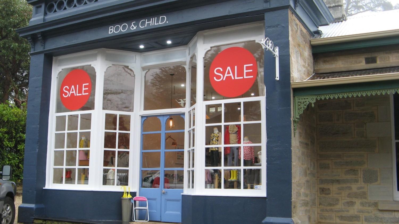 Sale shop window signs, retail signage, sale window stickers
