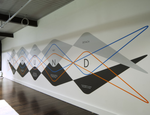 Commercial feature wall – Zenith, Melbourne