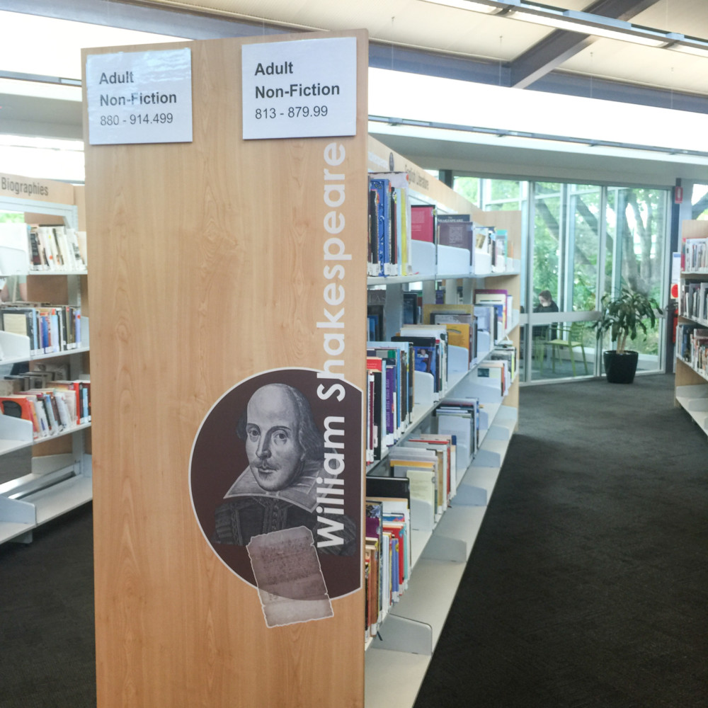 Bay end features, Hamra Centre Library, SA