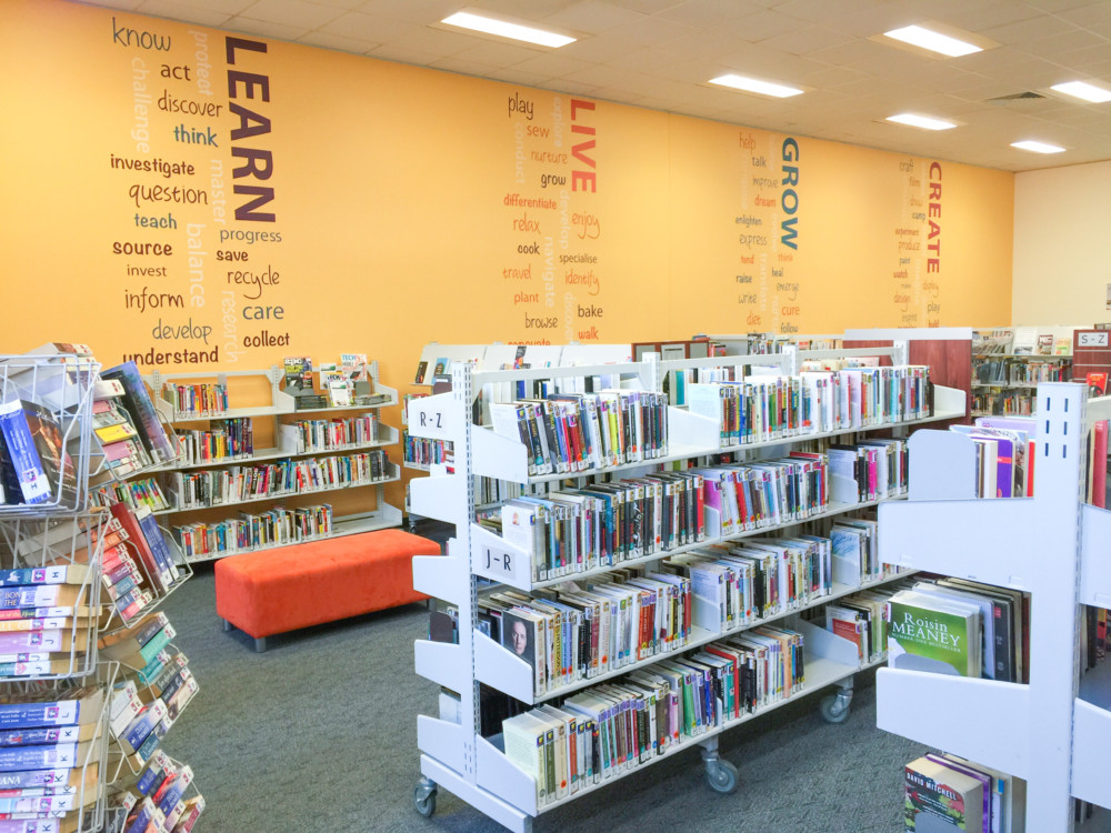 library decals Archives - WallsThatTalk - wall graphics, custom ...