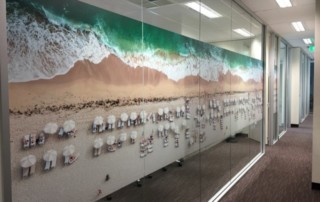 custom printed film for glass MBA Financial Strategists Unley. Privacy screen for board room.
