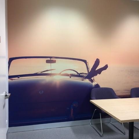 custom wallpaper MBA Financial Strategists office wall 2