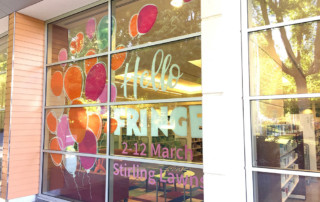 event communication, Stirling Fringe, Coventry Library, Adelaide Hills Council, 2018