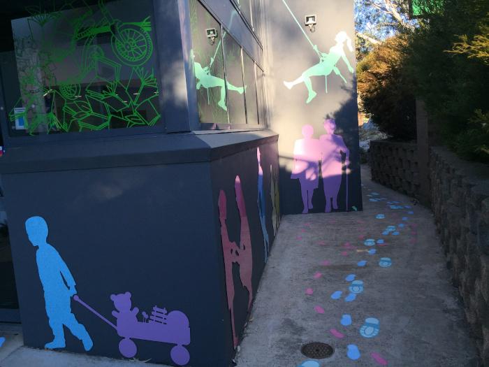 exterior wall enhancement hub library 6